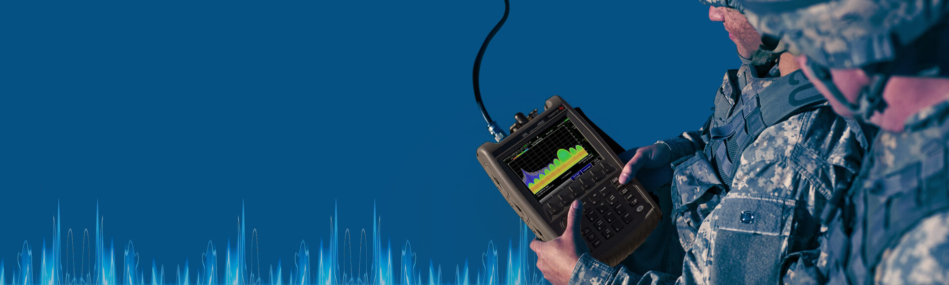 Industry`s First <strong>50 GHz</strong> Handheld Microwave Analyzer