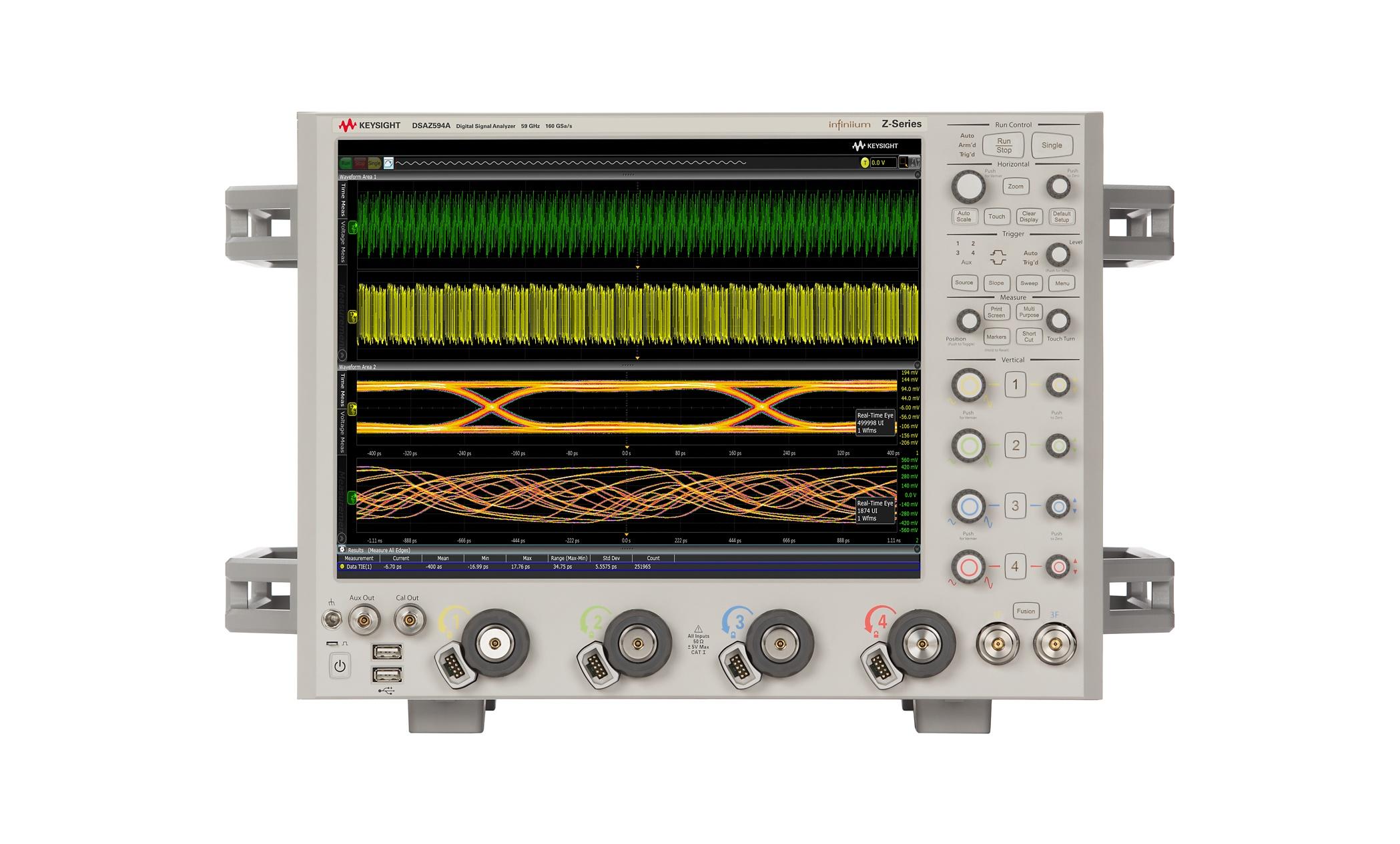 DSAZ594 Infiniium Osiloskop: 59 GHz