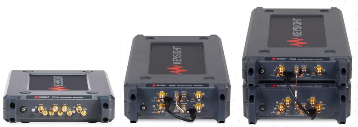 Keysight Streamline Serisi USB Vektör Network Analizörler