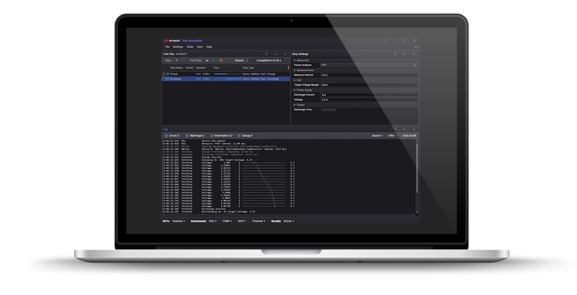 PathWave Test Otomasyon Yazılımı (TAP)