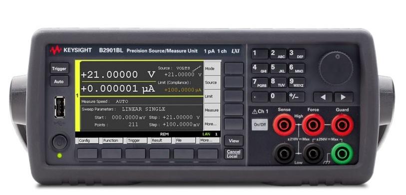B2900 Serisi Hassas Kaynak / Ölçüm Birimleri (SMU)