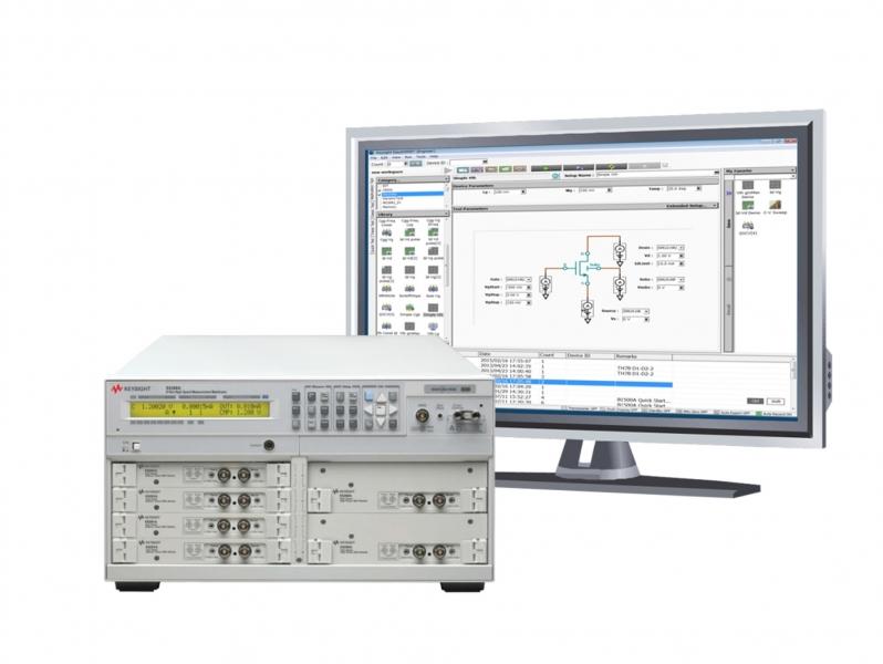 E5260A 8-Slot Yüksek Hız Ölçüm Ana Sistemi