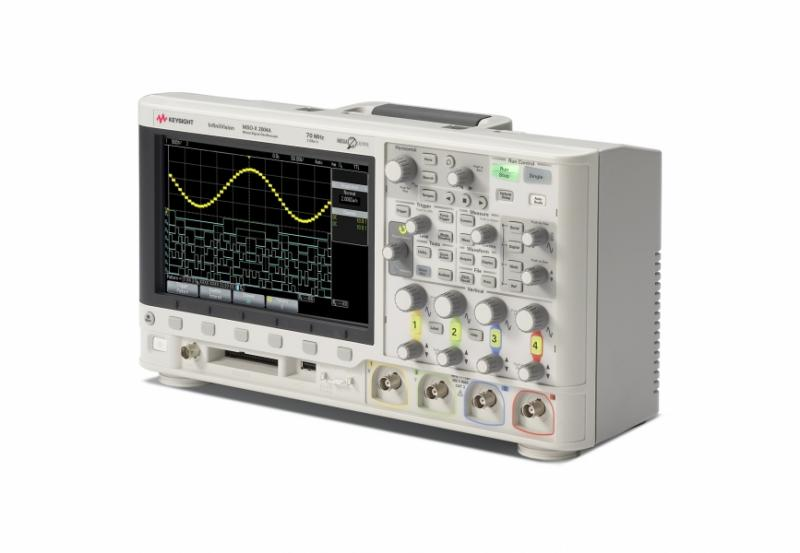 MSOX2004A Osiloskop: 70 MHz, 4 Analog 8 Dijital Kanal