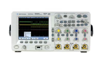 MSO6034A Karışık Sinyal Osiloskop: 300 Mhz, 4 Analog ve 16 Dijital Kanal