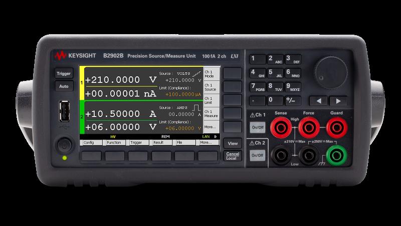 B2902B Hassas Kaynak/Ölçüm Birimi, 2 Kanal, 100 fA Çözünürlük