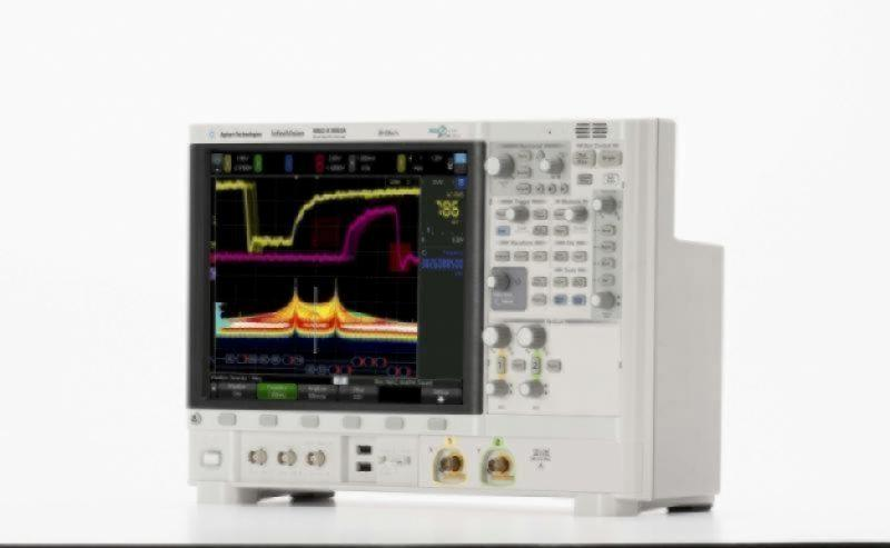 MSOX6002A Osiloskop: 1 GHz - 6 GHz, 2 Analog 16 Dijital Kanal