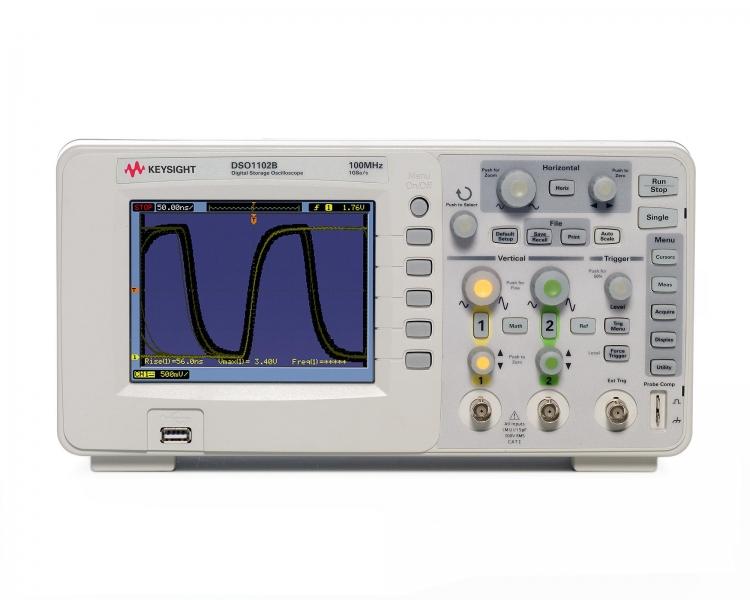 DSO1102B Osiloskop, 100 MHz, 2 kanal