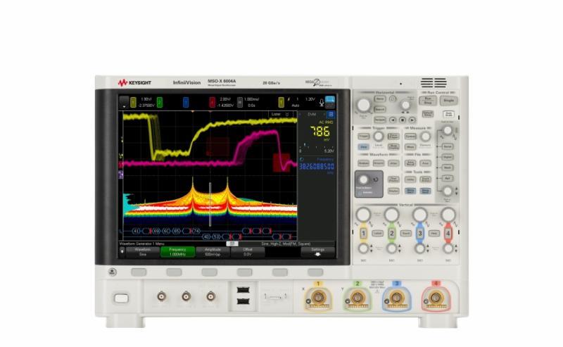 InfiniiVision 6000 X-Serisi 1 GHz - 6 GHz