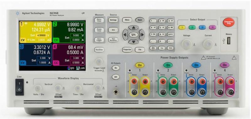 N6705B DC Güç Analizörü, Modüler, 600 W, 4 Slot