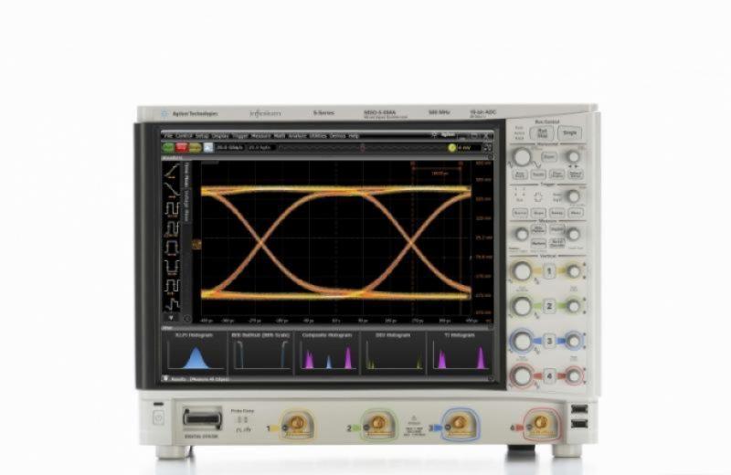 MSOS054A Osiloskop: 500 MHz, 4 Analog 16 Dijital Kanal