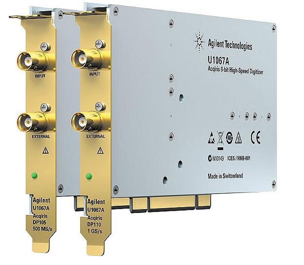 U1067A Acqiris 8-bit Yüksek Hızlı PCI Sayısallaştırıcılar