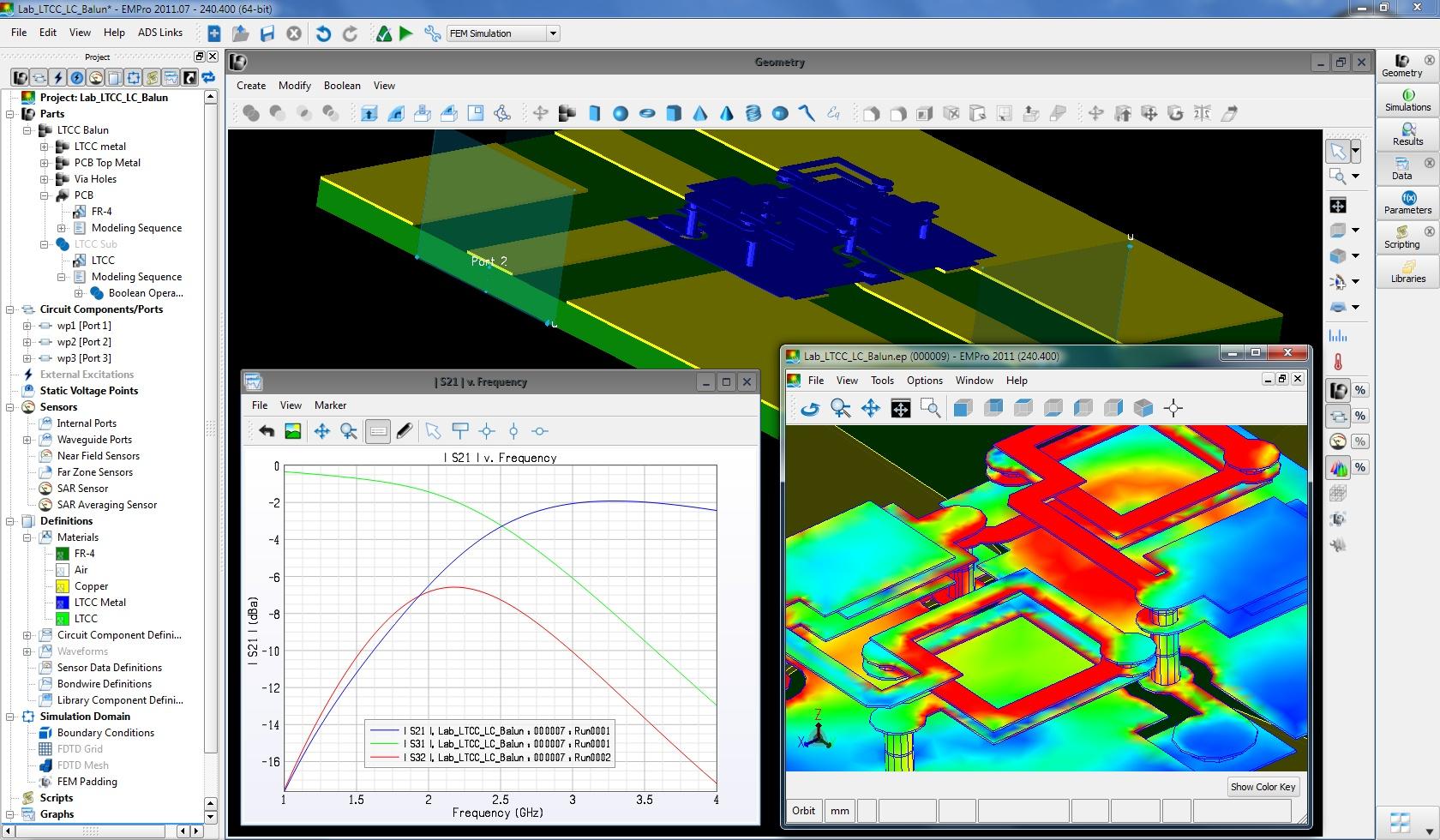 PathWave EM Design (EMPro) Yazılımı