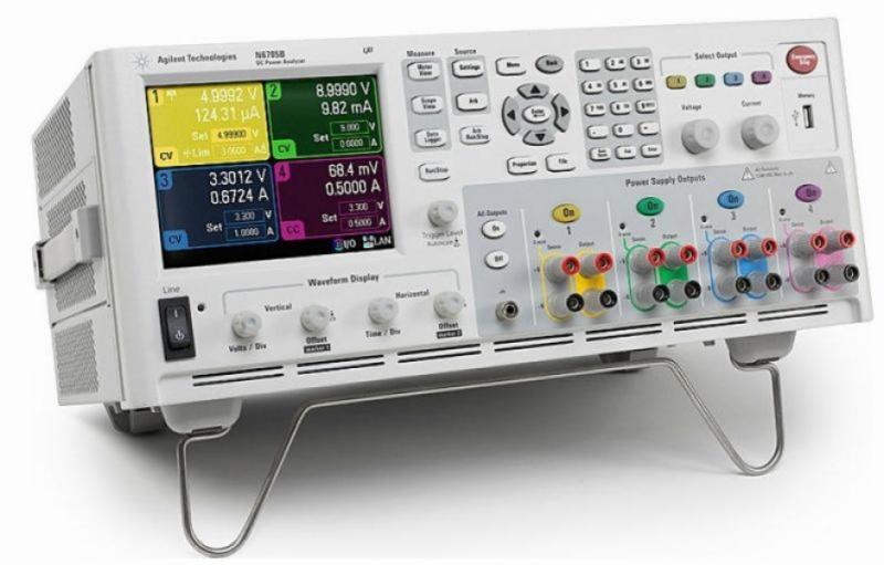 N6715B Özel-Konfigüre Edilmiş DC Güç Analizörü