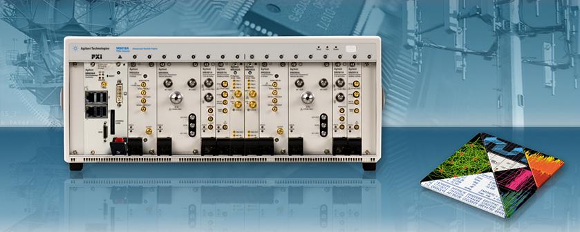 Çift Kanal PXI Vektör Sinyal Analizörü