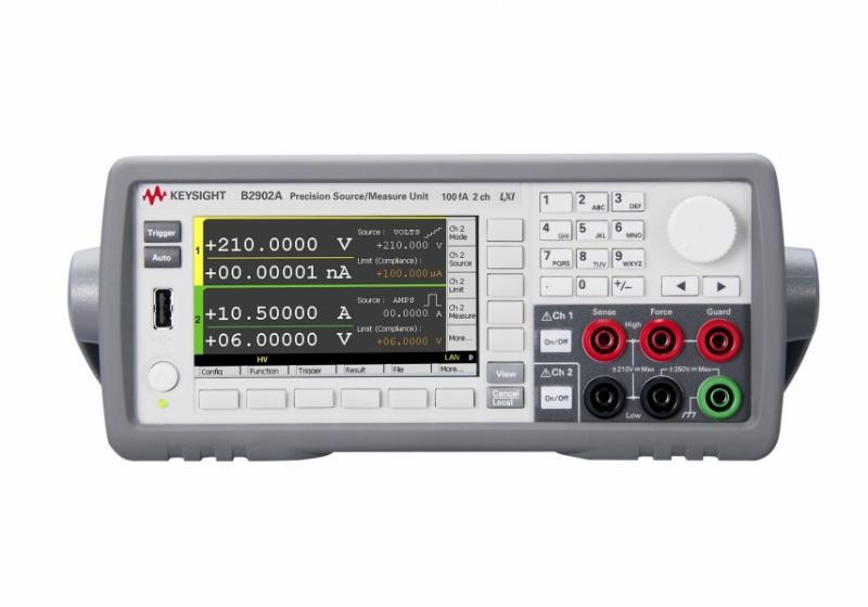 B2902A Hassas Kaynak / Ölçüm Birimi, 2 ch, 100 fA