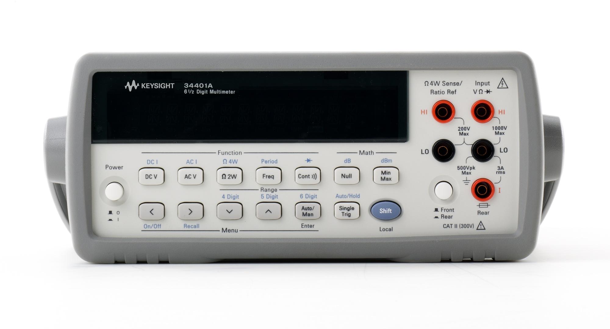 34401A Dijital Multimetre, 6½ Dijit