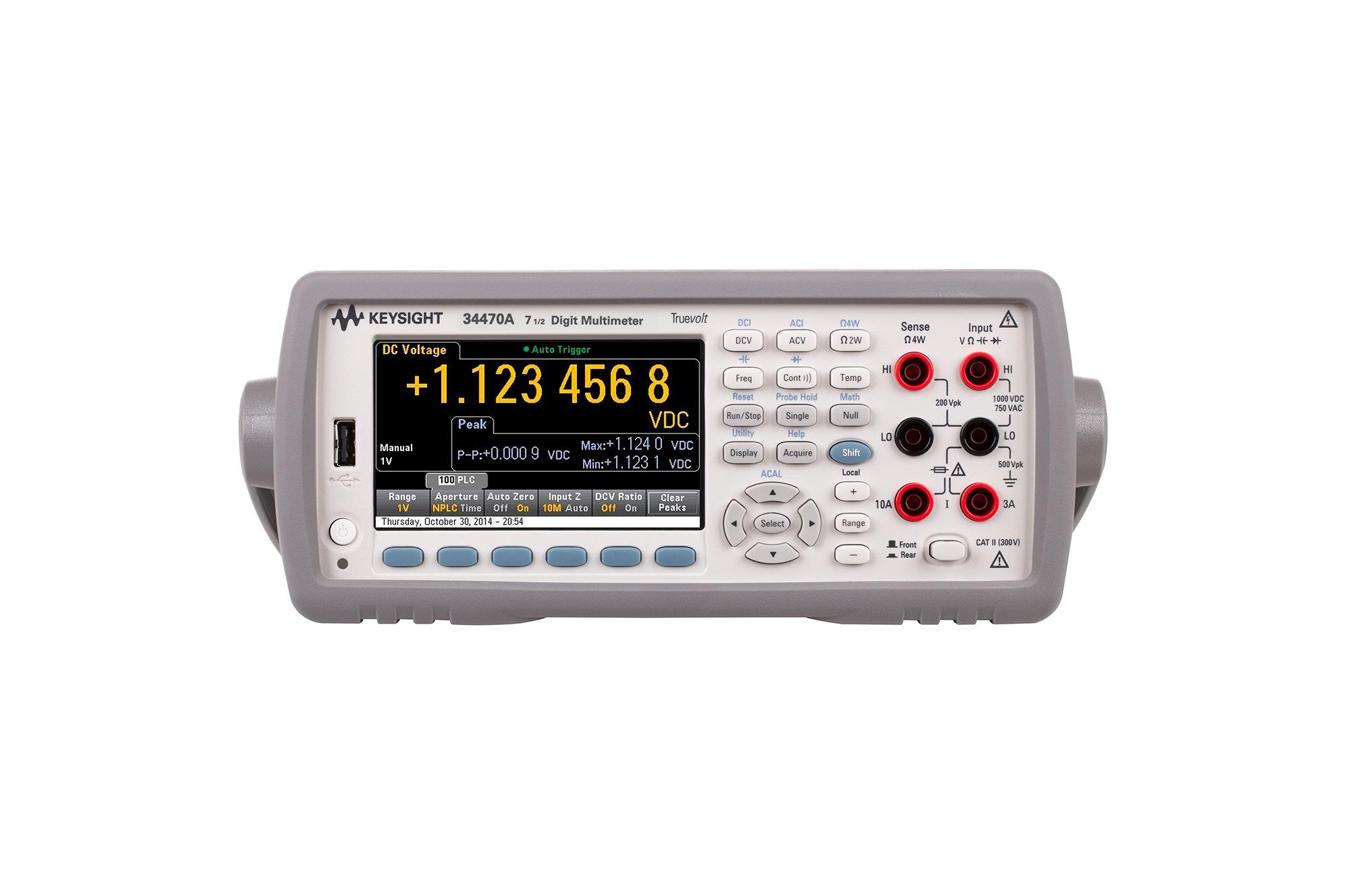34470A Dijtal Multimetre, 7½ Dijit, Performance Truevolt DMM