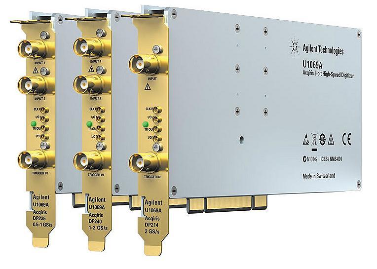 U1069A Acqiris 8-bit Yüksek Hızlı PCI Sayısallaştırıcılar