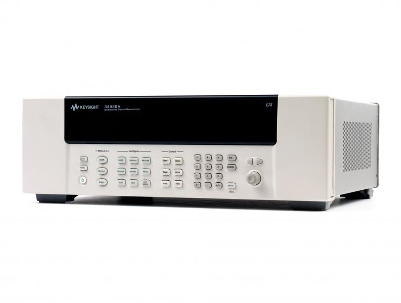 34980A Çok Fonksiyonlu Switch/Measure Mainframe ve Modüller