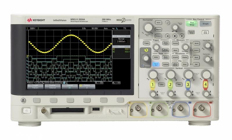 DSOX2014A Osiloskop: 100 MHz, 4 Kanal
