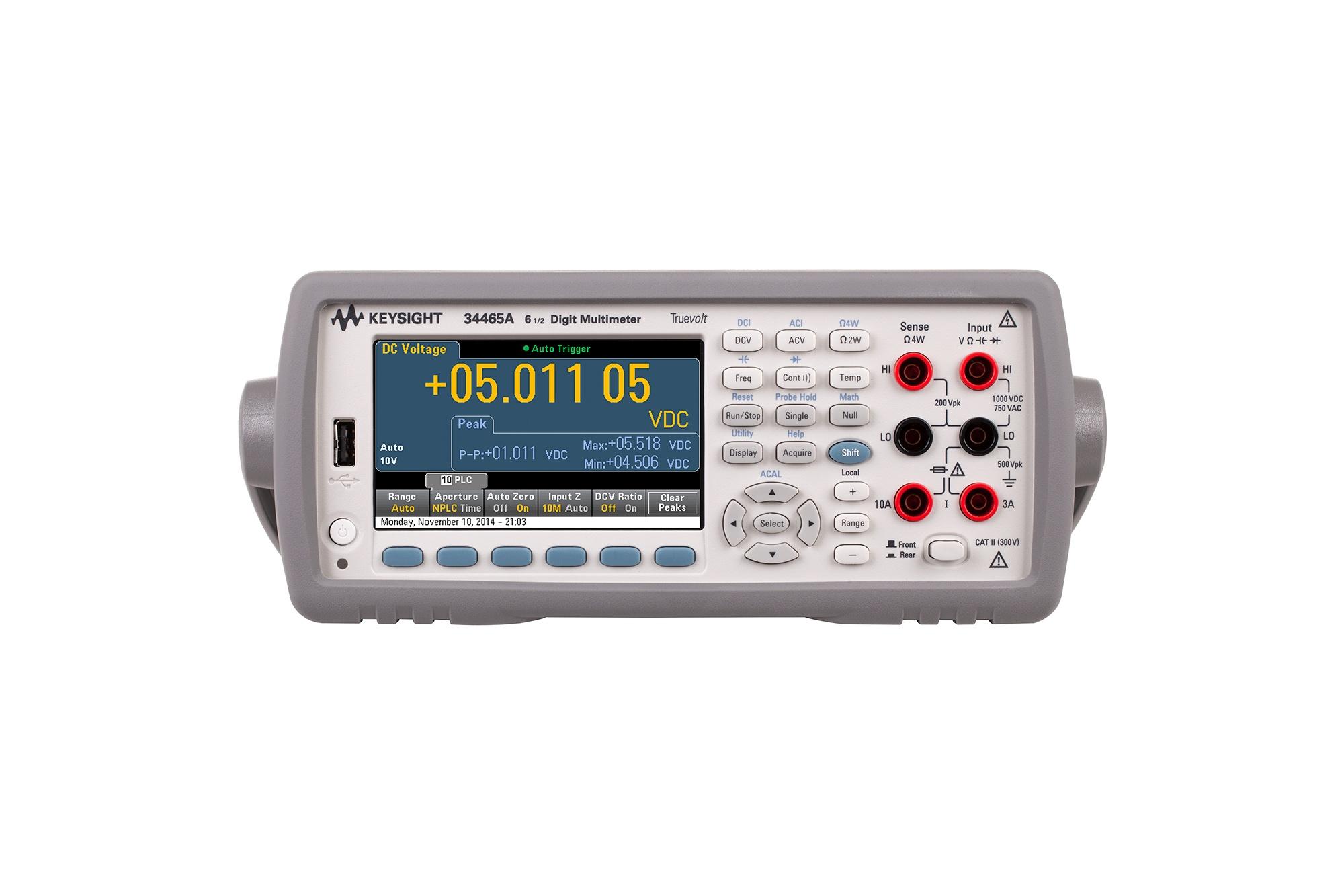 34465A Dijital Multimetre, 6½ Dijit, Performance Truevolt DMM