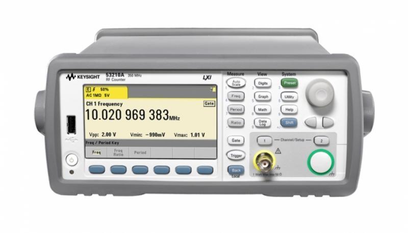 53210A 350 MHz RF Frekans Sayacı, 10 dijit/sn