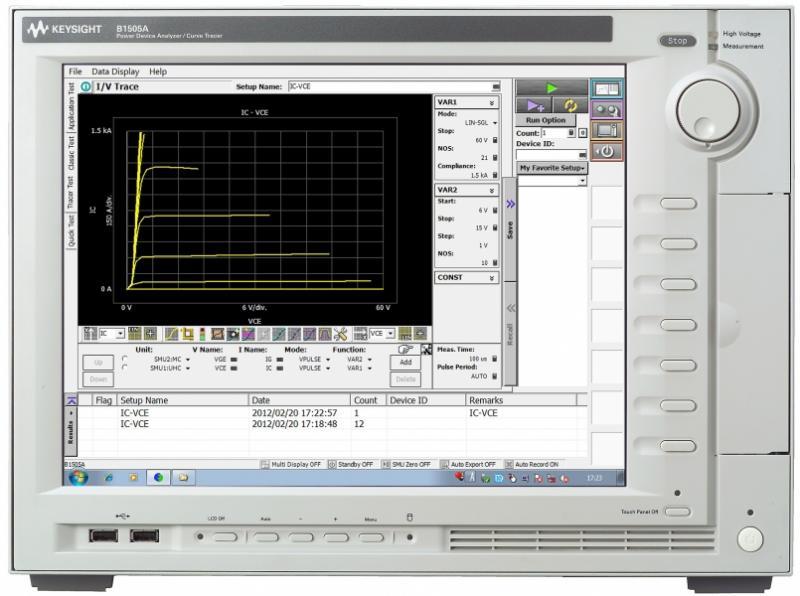 B1505A Güç Cihazı Analizörü /Curve Tracer