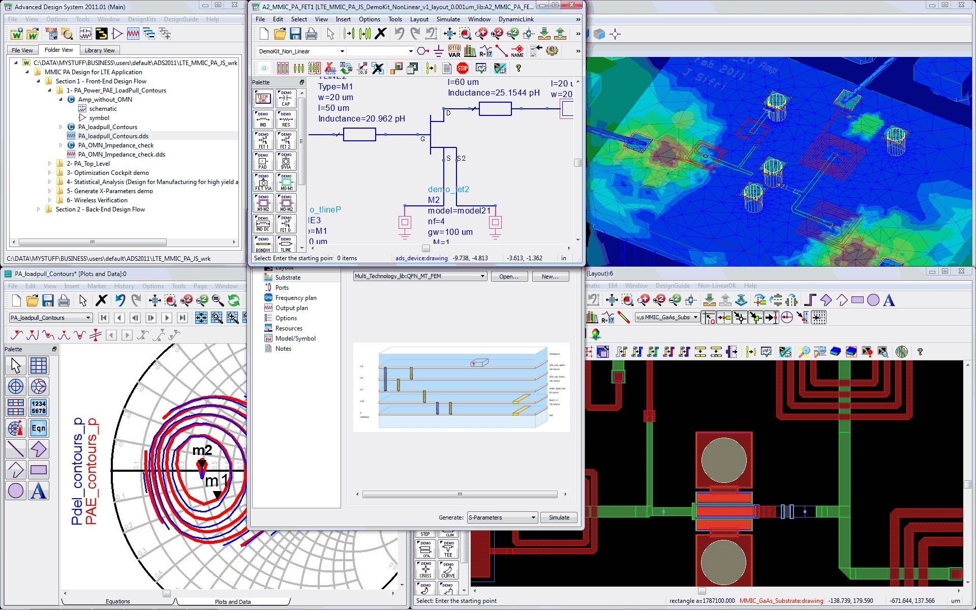 PathWave Advanced Design System (ADS) Yazılımı
