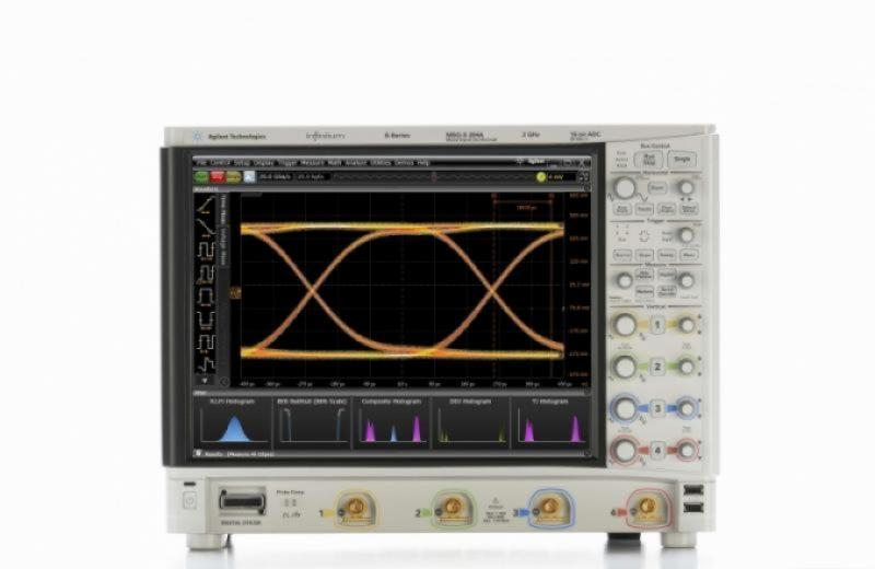 MSOS204A Osiloskop: 2 GHz, 4 Analog 16 Dijital Kanal