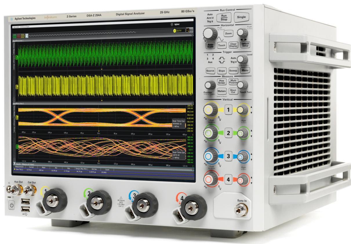 DSAZ254A Infiniium Osiloskop: 25 GHz