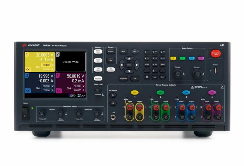 N6715C Temel Model Özel Yapılandırılmış DC Güç Analizörü