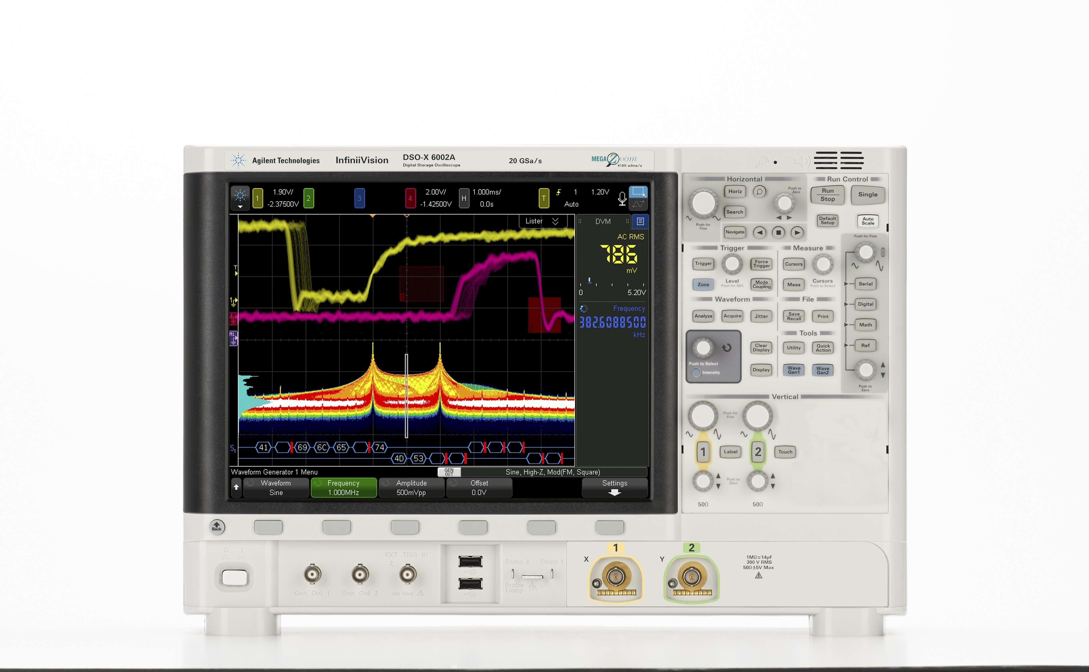 DSOX6002A Osiloskop: 1 GHz - 6 GHz, 2 kanal