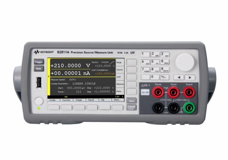 B2911A Hassas Kaynak / Ölçüm Birimi, 1 ch, 10 fA