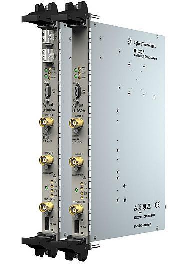 U1080A Acqiris 8-bit Yüksek Hızlı cPCI Sayısallaştırıcılar Dahili Sinyal İşleme ile