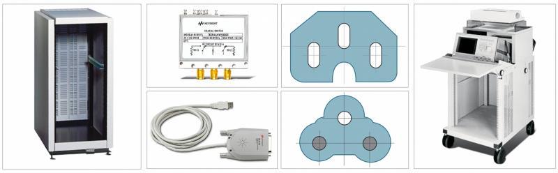 GPIB, USB, Aksesuarlar, Raflar