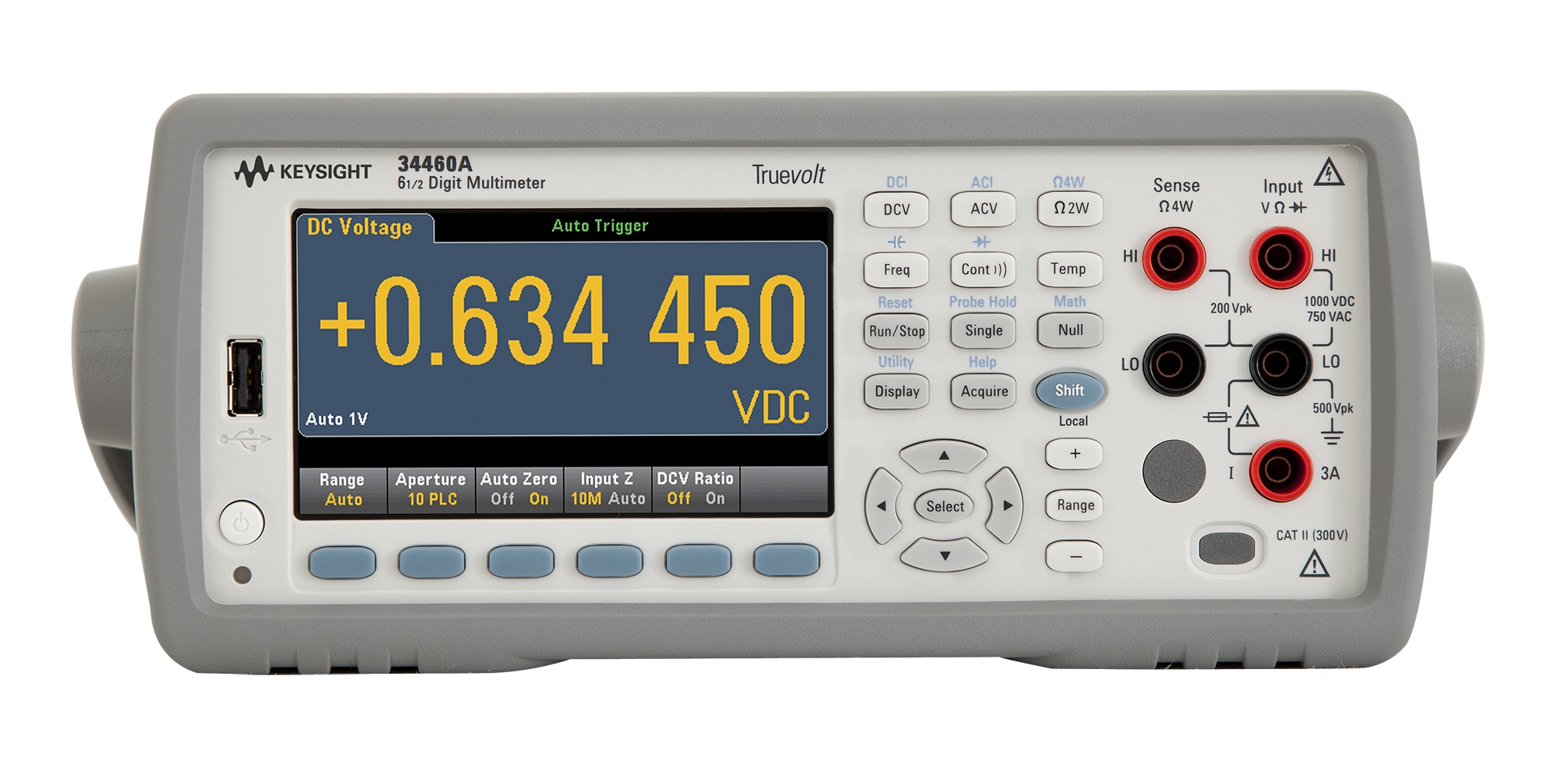 34460A Dijital Multimetre, 6½ Dijit, Basic Truevolt DMM