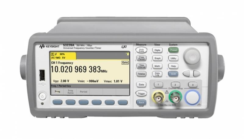 53220A 350 MHz Universal Frekans Sayacı/Zamanlayıcı, 12 dijit/sn