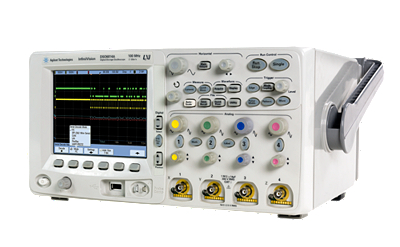 DSO6014A Osiloskop: 100 MHz, 4 kanal